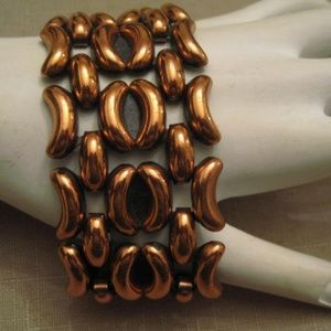 Renoir Copper Bracelet 1950's Vintage Jewelry